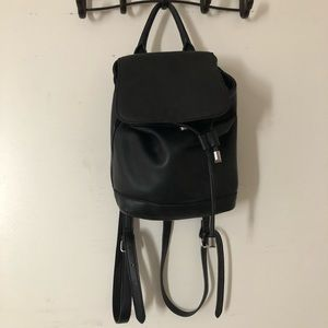 Black forever21 mini backpack!